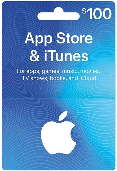 how to use apple gift card instead of credit card