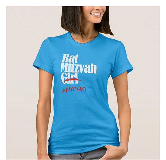 Bat Mitzvah Girl (Woman) T-Shirt
