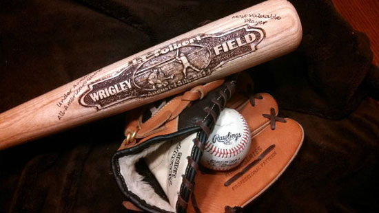 Custom Hand Engraved Art Personalized Baseball Bat