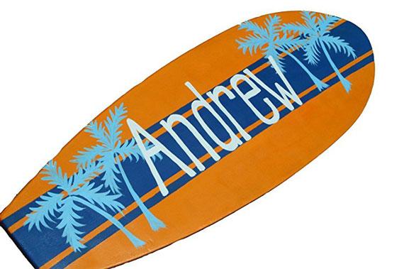 Custom Surf Board Wall Hanging