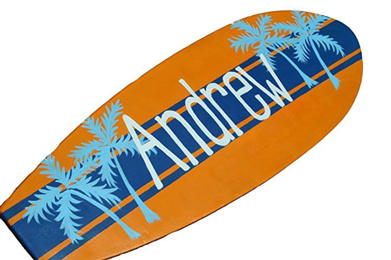 Custom Surf Board Wall Hanging