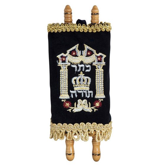 Deluxe Torah Scroll Replica