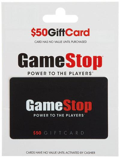 Gamestop Gift Card
