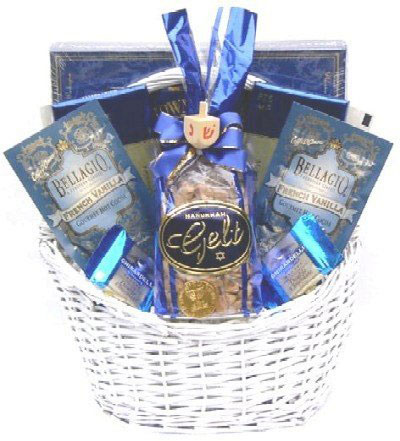 Gift Basket Village Eight Days Of Hanukkah Gift Basket