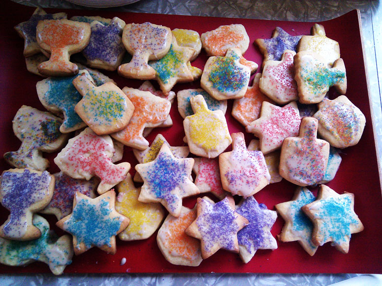 Hanukkah Sugar Cookies