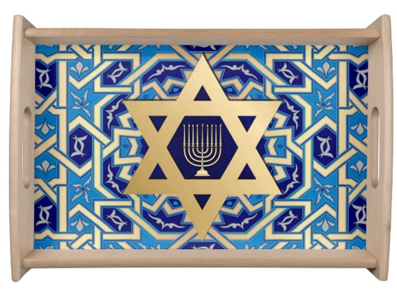 Happy Hanukkah Gift Serving Tray