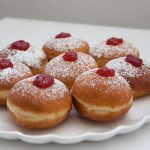 Jelly Filled Powdered Donuts (Hanukkah Sufganiyot)