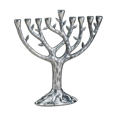 Rite Lite Tree Of Life Chanukah Menorah