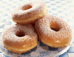 Vanilla Glazed Baked Donuts