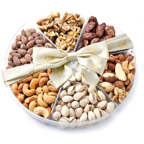Assorted Nuts Gift Basket