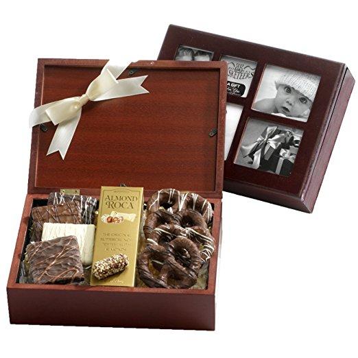 Broadway Basketeers Chocolate Photo Gift Box