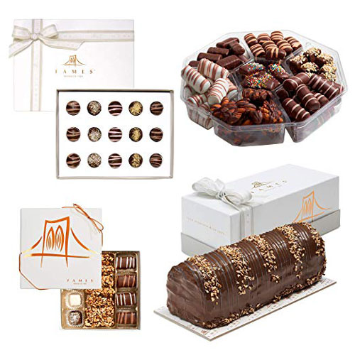 Fames Chocolate Elegant Mishloach Manot Purim Set