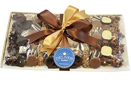 Handmade Chocolate Kosher Purim Platter – Mishloach Manot