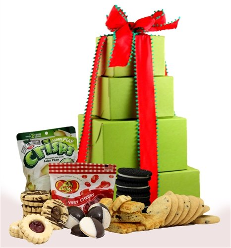 Holiday Delight Gluten Free Gift Tower