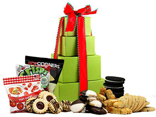 Large Holiday Delight Gluten Free Gift Tower