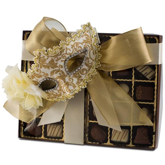 Premium Belgium Truffles Clear Purim Box