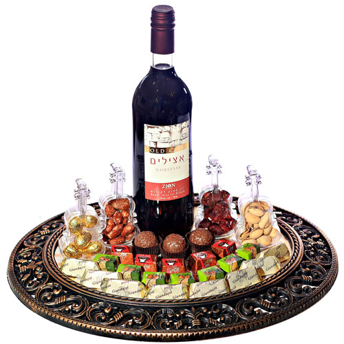Purim Picture Perfect Tray Israel Only