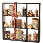 Purim Shalach Manos Well Appointed 9 Shelf Display Case Gift Basket