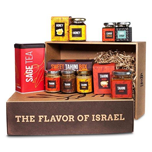 Yoffi Premium Kosher Gift Basket Box Flavors of Israel