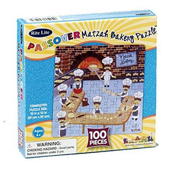 100 Piece Matzah Bakery Jigsaw Puzzle