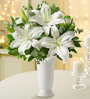 All White Lilies
