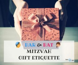Bar Bat Mitzvah Gift Etiquette