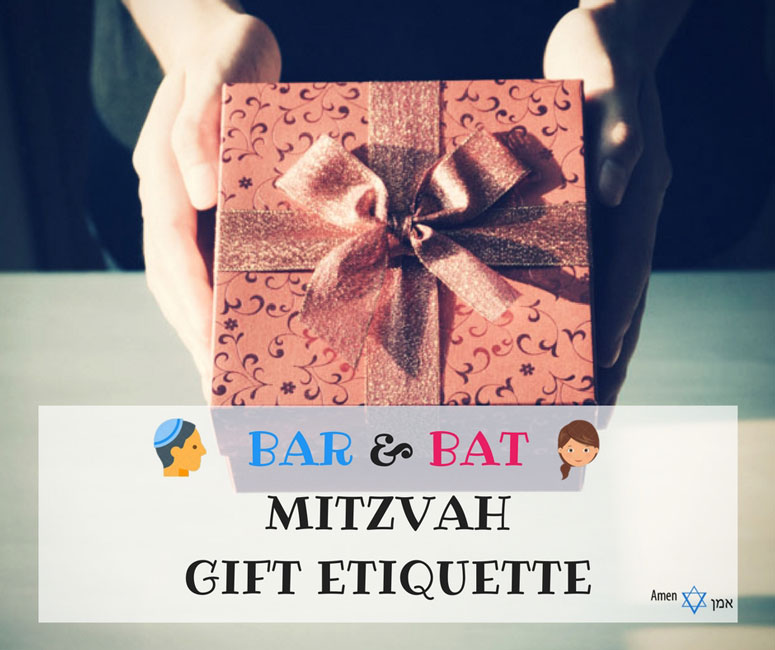 Wedding Etiquette Gift Amount: Bar/Bat Mitzvah Gift Etiquette & Traditions: This Is How
