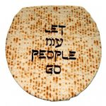 Let My People Go Toilet Seat Cover