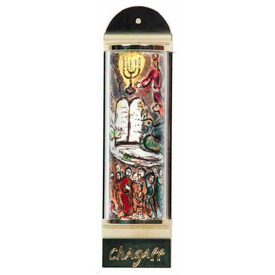 Limited Edition Marc Chagall Mezuzah – Ten Commandments