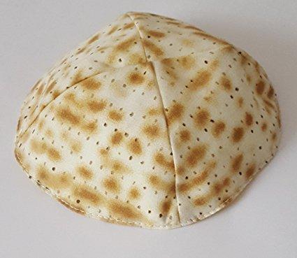 Passover Matzah Design Kippah
