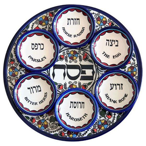 Passover Seder Plate – Armenian Ceramic