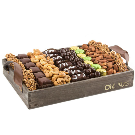 Passover Wooden Gift Tray