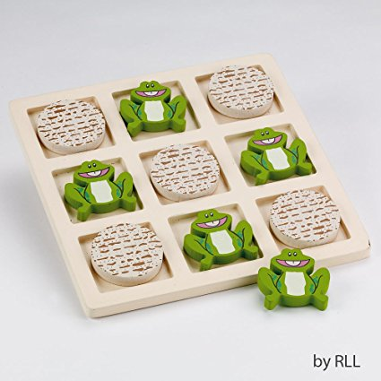 Rite Lite Tic Tac Toad Wood Passover Game