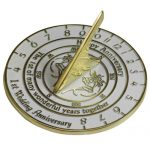 1st Anniversary Sundial Gift