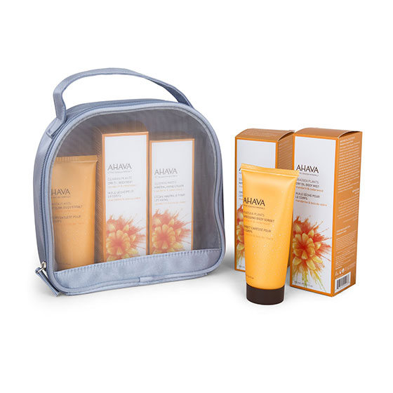 AHAVA Luxury Gift Set - Mandarin and Cedarwood