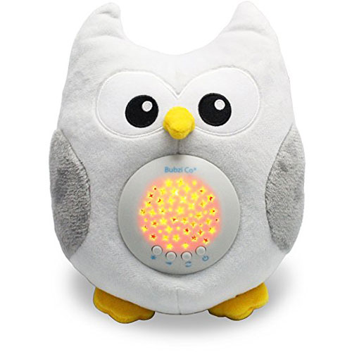 Bubzi White Noise Sound Machine Sleep Aid Night Light