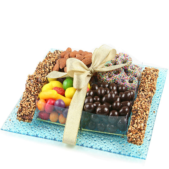 Chocolate Glass Gift Tray