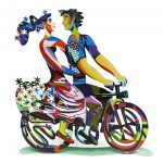 David Gerstein Signed Sculpture – Spring Ride