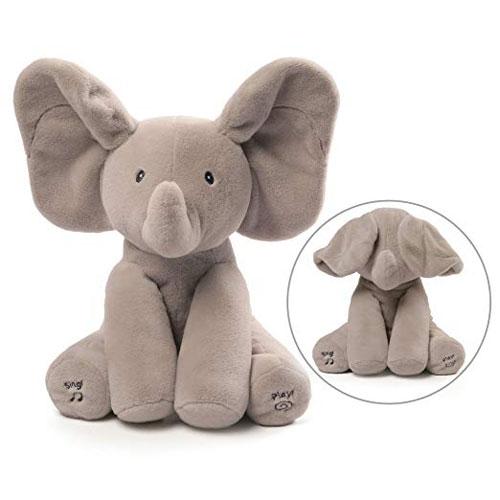 Gund Baby Animated Flappy The Elephant Plush Toy
