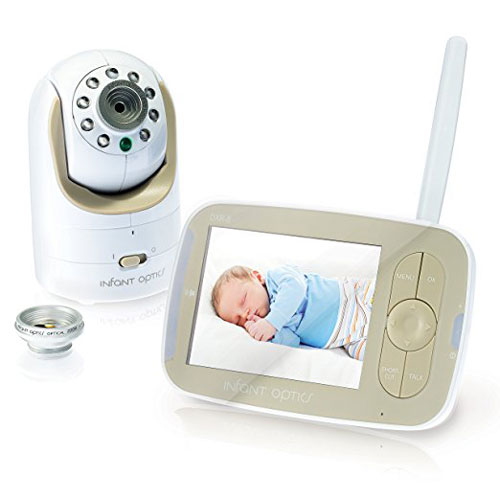 Infant Optics Dxr 8 Video Baby Monitor + Interchangeable Optical Lens