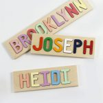 Kids Wooden Name Puzzle