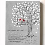Personalized Family Tree Lovebirds
