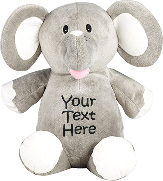 35 best jewish baby gifts for bris brit milah ceremony 2018 personalized stuffed elephant negle Image collections
