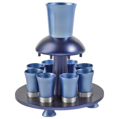 Yair Emanuel Anodized Aluminum Kiddush Fountain