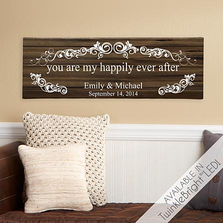 You Are My Happily Ever After Canvas
