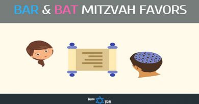Bar & Bat Mitzvah Favors