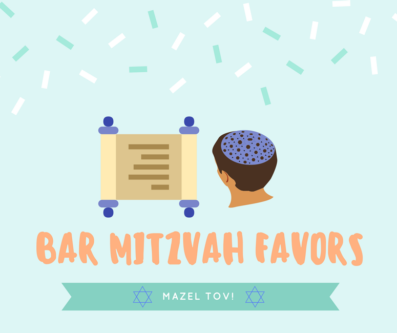 Bar Mitzvah Favors