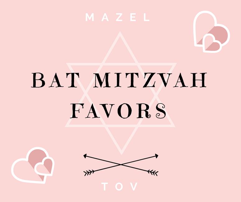 Bat Mitzvah Favors