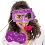 Bat Mitzvah Photo Booth Props