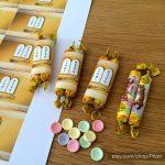 Custom Bat Mitzvah Printable Torah Candy Bar Wrappers